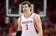 May 3, 2013; Houston, TX, USA; Houston Rockets center Omer Asik (3) reacts after a play during the third quarter against the Oklahoma City Thunder in game six of the first round of the 2013 NBA Playoffs at the Toyota Center. Mandatory Credit: Troy Taormina-USA TODAY Sports