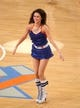 May 5, 2013; New York, NY, USA; New York Knicks city dancer performs during the second half of game one of the second round of the NBA Playoffs at Madison Square Garden. Mandatory Credit: Danny Wild-USA TODAY Sports