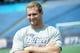 May 3, 2013; Foxboro, MA USA; New England Patriots rookie Ben Bartholomew poses for a photo during rookie minicamp at Gillette Stadium. Mandatory Credit: Bob DeChiara-USA TODAY Sports