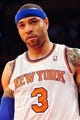 May 5, 2013; New York, NY, USA; New York Knicks power forward Kenyon Martin (3) looks on against the Indiana Pacers during the first half of game one of the second round of the NBA Playoffs. Pacers won the game 102-95. Mandatory Credit: Joe Camporeale-USA TODAY Sports