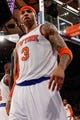 May 16, 2013; New York, NY, USA; New York Knicks power forward Kenyon Martin (3) during the third quarter  of Game 5 in the Eastern Conference semifinals against the Indiana Pacers at Madison Square Garden. Knicks won 85-75.  Mandatory Credit: Anthony Gruppuso-USA TODAY Sports