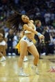 May 27, 2013; Memphis, TN, USA; Memphis Grizzlies cheerleaders perform in the second half of game four of the Western Conference finals of the 2013 NBA Playoffs against the San Antonio Spurs at FedEx Forum.  The Spurs won 93-86.  Mandatory Credit: Spruce Derden-USA TODAY Sports