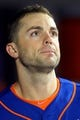 Jun 14, 2013; New York, NY, USA; New York Mets third baseman David Wright (5) leaves the dugout after losing to the Chicago Cubs in a game at Citi Field. Mandatory Credit: Brad Penner-USA TODAY Sports