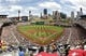Jul 4, 2013; Pittsburgh, PA, USA; Gerneral view as the Pittsburgh Pirates host the Philadelphia Phillies during the second inning at PNC Park. Mandatory Credit: Charles LeClaire-USA TODAY Sports