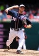 Jul 4, 2013; Washington, DC, USA; Washington Nationals pitcher Taylor Jordan (38) throws a pitch in the fourth inning against the Milwaukee Brewers at Nationals Park. Mandatory Credit: Evan Habeeb-USA TODAY Sports