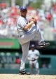 Jul 7, 2013; Washington, DC, USA; San Diego Padres starting pitcher Robbie Erlin (41) throws during the first inning against the Washington Nationals at Nationals Park. Mandatory Credit: Brad Mills-USA TODAY Sports