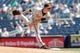 Jul 7, 2013; Bronx, NY, USA;  Baltimore Orioles relief pitcher Troy Patton (40) delivers a pitch during the eighth inning against the New York Yankees at Yankee Stadium. Baltimore Orioles won 2-1.  Mandatory Credit: Anthony Gruppuso-USA TODAY Sports