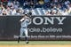 Jul 7, 2013; Bronx, NY, USA;  New York Yankees right fielder Ichiro Suzuki (31) fields a ball during the fifth inning against the Baltimore Orioles at Yankee Stadium. Baltimore Orioles won 2-1.  Mandatory Credit: Anthony Gruppuso-USA TODAY Sports