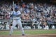 July 6, 2013; San Francisco, CA, USA; Los Angeles Dodgers right fielder Yasiel Puig (66) bats during the ninth inning against the San Francisco Giants at AT&T Park. The Giants defeated the Dodgers 4-2. Mandatory Credit: Kyle Terada-USA TODAY Sports