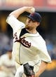 Jul 12, 2013; San Diego, CA, USA; San Diego Padres starting pitcher Sean O'Sullivan (59) throws during the second inning against the San Francisco Giants at Petco Park. Mandatory Credit: Christopher Hanewinckel-USA TODAY Sports