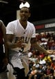 Jul 18, 2013; Las Vegas, NV, USA; Chicago Bulls forward Malcolm Thomas protests towards an official a call during an NBA Summer League game against the Miami Heat at Cox Pavillion. Mandatory Credit: Stephen R. Sylvanie-USA TODAY Sports