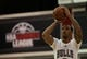 Jul 18, 2013; Las Vegas, NV, USA; Chicago Bulls forward Malcolm Thomas takes a free throw attempt against the Miami Heat during an NBA Summer League game at Cox Pavillion. Mandatory Credit: Stephen R. Sylvanie-USA TODAY Sports