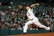 Jul 22, 2013; Houston, TX, USA; Houston Astros starting pitcher Dallas Keuchel (60) pitches during the first inning against the Oakland Athletics at Minute Maid Park. Mandatory Credit: Troy Taormina-USA TODAY Sports