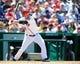 Jul 25, 2013; Washington, DC, USA; Washington Nationals catcher Kurt Suzuki (24) bats during the game against the Pittsburg Pirates at Nationals Park. Mandatory Credit: Brad Mills-USA TODAY Sports
