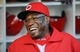 Jul 29, 2013; San Diego, CA, USA; Cincinnati Reds manager Dusty Baker (12) in the dugout prior to the game against the San Diego Padres at Petco Park. . Mandatory Credit: Christopher Hanewinckel-USA TODAY Sports