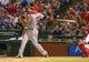 Jul 30, 2013; Arlington, TX, USA; Los Angeles Angels designated hitter Josh Hamilton (32) bats during the game against the Texas Rangers at Rangers Ballpark in Arlington. Texas won 14-11.  Mandatory Credit: Kevin Jairaj-USA TODAY Sports