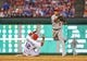 Jul 30, 2013; Arlington, TX, USA; Los Angeles Angels shortstop Erick Aybar (2) throws to first over Texas Rangers designated hitter A.J. Pierzynski (12) during the game at Rangers Ballpark in Arlington. Texas won 14-11.  Mandatory Credit: Kevin Jairaj-USA TODAY Sports