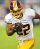 Aug 8, 2013; Nashville, TN, USA; Washington Redskins running back Evan Royster (22) carries the ball against the Tennessee Titans during the second half at LP Field. The Redskins beat the Titans 22-21. Mandatory Credit: Don McPeak-USA TODAY Sports