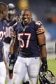 Aug 15, 2013; Chicago, IL, USA; Chicago Bears inside linebacker Jon Bostic (57) during the second half against the San Diego Chargers at Soldier Field. Chicago won 33-28. Mandatory Credit: Dennis Wierzbicki-USA TODAY Sports