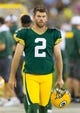 Aug 9, 2013; Green Bay, WI, USA; Green Bay Packers kicker Mason Crosby (2) during the game against the Arizona Cardinals at Lambeau Field.  The Cardinals won 17-0.  Mandatory Credit: Jeff Hanisch-USA TODAY Sports