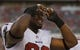 Aug 8, 2013; Tampa, FL, USA; Tampa Bay Buccaneers defensive tackle Gerald McCoy (93) looks against the Baltimore Ravens during the second half at Raymond James Stadium. Tampa Bay Buccaneers defeated the Baltimore Ravens 44-16. Mandatory Credit: Kim Klement-USA TODAY Sports