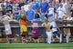 Aug 18, 2013; Milwaukee, WI, USA;  The mini sausages race between innings during game between the Cincinnati Reds and Milwaukee Brewers at Miller Park. The Reds beat the Brewers 9-1.  Mandatory Credit: Benny Sieu-USA TODAY Sports