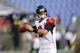 Aug 15, 2013; Baltimore, MD, USA; Atlanta Falcons quarterback Matt Ryan (2) warms up prior to the game against the Baltimore Ravens at M&T Bank Stadium. Mandatory Credit: Mitch Stringer-USA TODAY Sports