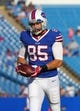 Aug 16, 2013; Orchard Park, NY, USA;  Buffalo Bills tight end Lee Smith (85) before a game against the Minnesota Vikings at Ralph Wilson Stadium.  Mandatory Credit: Timothy T. Ludwig-USA TODAY Sports