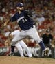 Aug 24, 2013; Cincinnati, OH, USA; Milwaukee Brewers relief pitcher Burke Badenhop throws against the Cincinnati Reds at Great American Ball Park. The Reds defeated the Brewers 6-3.Mandatory Credit: David Kohl-USA TODAY Sports