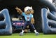Aug 24, 2013; Nashville, TN, USA; The Tennessee Titans mascot performs before a game between the Titans and the Atlanta Falcons at LP Field. The Titans beat the Falcons 27-16. Mandatory Credit: Don McPeak-USA TODAY Sports