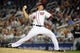 Aug 27, 2013; Washington, DC, USA; Washington Nationals relief pitcher Tyler Clippard (36) throws during the eighth inning against the Miami Marlins at Nationals Park. Mandatory Credit: Brad Mills-USA TODAY Sports