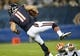 Aug 29, 2013; Chicago, IL, USA; Chicago Bears wide receiver Josh Lenz (11) makes a catch against the Cleveland Browns during the fourth quarter at Soldier Field. The Cleveland Browns defeat the Chicago Bears 18-16. Mandatory Credit: Mike DiNovo-USA TODAY Sports
