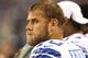 Aug 29, 2013; Arlington, TX, USA; Dallas Cowboys center Travis Frederick (70) on the sidelines during the second half against the Houston Texans at AT&T Stadium. Mandatory Credit: Matthew Emmons-USA TODAY Sports
