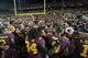 Aug 29, 2013; Minneapolis, MN, USA; A general view of the Minnesota Golden Gophers team and fans after a game against the UNLV Rebels at TCF Bank Stadium. The Gophers won 51-23. Mandatory Credit: Jesse Johnson-USA TODAY Sports
