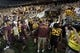 Aug 29, 2013; Minneapolis, MN, USA; A general view of the Minnesota Golden Gophers leaving the field after a game against the UNLV Rebels at TCF Bank Stadium. The Gophers won 51-23. Mandatory Credit: Jesse Johnson-USA TODAY Sports