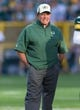 Aug 23, 2013; Green Bay, WI, USA; Green Bay Packers defensive coordinator Dom Capers during warmups prior to the game against the Seattle Seahawks at Lambeau Field.  Seattle won 17-10.  Mandatory Credit: Jeff Hanisch-USA TODAY Sports