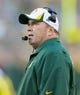 Aug 23, 2013; Green Bay, WI, USA; Green Bay Packers head coach Mike McCarthy during the game against the Seattle Seahawks at Lambeau Field.  Seattle won 17-10.  Mandatory Credit: Jeff Hanisch-USA TODAY Sports
