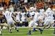 Aug 31, 2013; Seattle, WA, USA; Boise State Broncos quarterback Joe Southwick (16) passes the ball against the Washington Huskies during the 2nd half at Husky Stadium. Washington defeated Boise State 38-6. Mandatory Credit: Steven Bisig-USA TODAY Sports