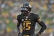 Aug 31, 2013; Columbia, MO, USA; Missouri Tigers wide receiver Dorial Green-Beckham (15) lines up during the second half of the game against the Murray State Racers at Faurot Field. Missouri won 58-14. Mandatory Credit: Denny Medley-USA TODAY Sports