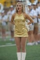 Aug 31, 2013; Columbia, MO, USA; Members of the Missouri Tigers golden girls perform on field before the game against the Murray State Racers at Faurot Field. Missouri won 58-14. Mandatory Credit: Denny Medley-USA TODAY Sports