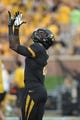 Aug 31, 2013; Columbia, MO, USA; Missouri Tigers wide receiver L'Damian Washington (2) warms up before the game against the Murray State Racers at Faurot Field. Missouri won 58-14. Mandatory Credit: Denny Medley-USA TODAY Sports