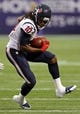 Aug 9, 2013; Minneapolis, MN, USA; Houston Texans wide receiver DeAndre Hopkins (10) catches a pass in the first quarter at the Metrodome. Mandatory Credit: Jesse Johnson-USA TODAY Sports