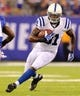 Aug 18, 2013; East Rutherford, NJ, USA; Indianapolis Colts wide receiver Darrius Heyward-Bey (81) runs with the ball during the second quarter of a preseason game at MetLife Stadium. Mandatory Credit: Brad Penner-USA TODAY Sports