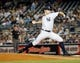 Sep 4, 2013; Bronx, NY, USA;  New York Yankees relief pitcher David Robertson (30) pitches during the eighth inning against the Chicago White Sox at Yankee Stadium. Yankees won 6-5.  Mandatory Credit: Anthony Gruppuso-USA TODAY Sports