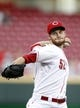 Sep 5, 2013; Cincinnati, OH, USA; Cincinnati Reds starting pitcher Tony Cingrani (52) pitches during the first inning against the St. Louis Cardinals at Great American Ball Park. Mandatory Credit: Frank Victores-USA TODAY Sports