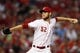 Sep 5, 2013; Cincinnati, OH, USA; Cincinnati Reds starting pitcher Tony Cingrani (52) pitches during the fourth inning against the St. Louis Cardinals at Great American Ball Park. Mandatory Credit: Frank Victores-USA TODAY Sports