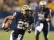 Sep 2, 2013; Pittsburgh, PA, USA; Pittsburgh Panthers wide receiver Tyler Boyd (23) carries the ball against the Florida State Seminoles during the third quarter at Heinz Field. The Florida State Seminoles won 41-13. Mandatory Credit: Charles LeClaire-USA TODAY Sports