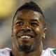 Aug 9, 2013; Jacksonville, FL, USA; Miami Dolphins defensive end Cameron Wake (91) smiles on the sidelines during the second half against the Jacksonville Jaguars  at EverBank Field. Miami Dolphins defeated the Jacksonville Jaguars 27-3. Mandatory Credit: Kim Klement-USA TODAY Sports