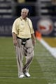 Sep 6, 2013; Miami, FL, USA;  Central Florida Knights head coach George O'Leary in the second quarter of a game against the Florida International Panthers at FIU Stadium. Mandatory Credit: Robert Mayer-USA TODAY Sports