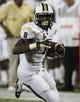 Sep 6, 2013; Miami, FL, USA; Central Florida Knights running back Storm Johnson (8) runs the ball against the Florida International Panthers in the second half at FIU Stadium. Mandatory Credit: Robert Mayer-USA TODAY Sports
